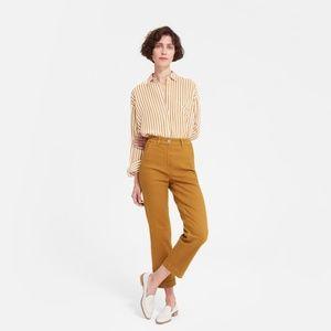 Everlane - The Straight Leg Crop in Golden Brown